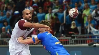 HANDBALL WM-Katar-Slowenien