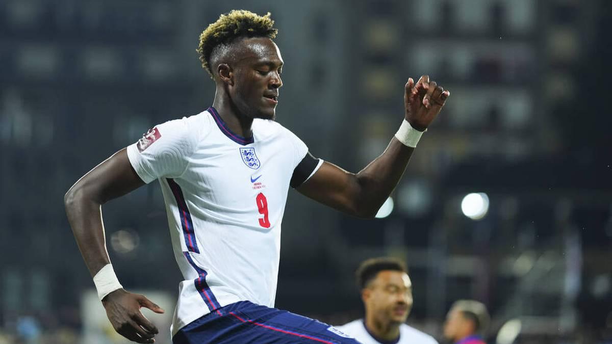 Dieses Tor wird ihm gut getan haben: Abraham erzielt das zwischenzeitliche 3:0 gegen Andorra