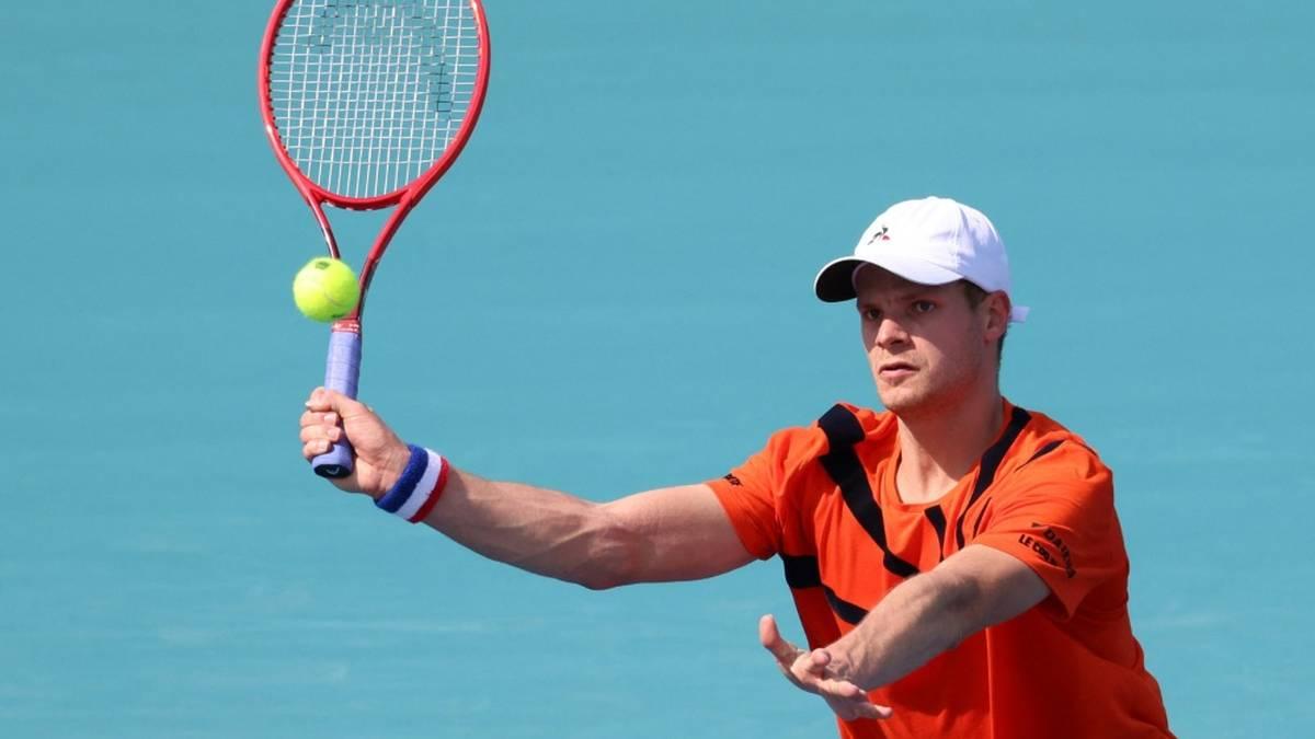 Yannick Hanfmann steht im Viertelfinale von Bastad