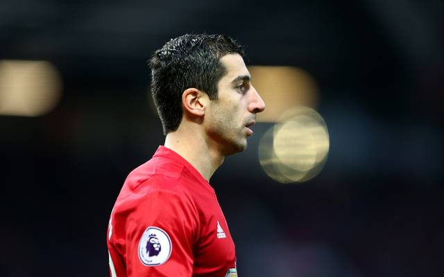 Henrikh Mkhitaryan wurde bei Manchester United nicht glücklich