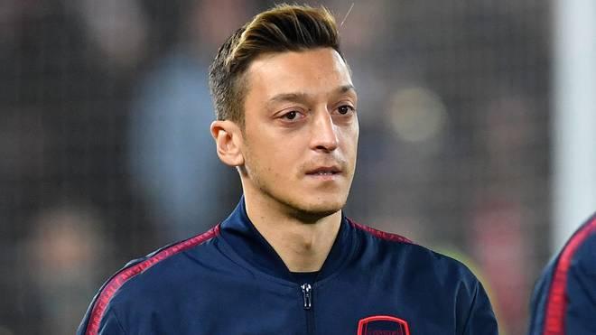 Mesut Özil spielt seit 2013 beim FC Arsenal