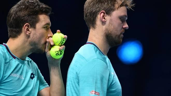 Mies (l.) kann nicht bei den Australian Open teilnehmen
