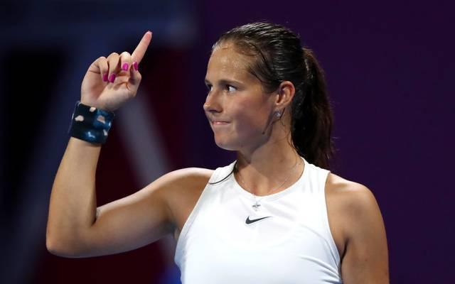 Daria Kasatkina steht in der Weltrangliste auf Platz 66