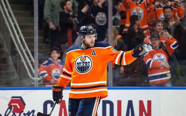 Leon Draisaitl war bei den Edmonton Oilers einmal mehr nicht zu stoppen
