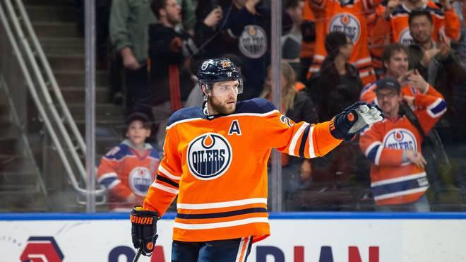 Leon Draisaitl führt die NHL-Scorerliste mittlerweile deutlich an