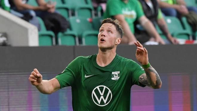 Wout Weghorst steht in der Startelf des VfL Wolfsburg