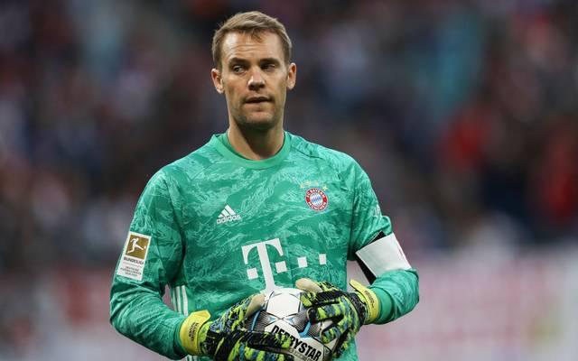 Manuel Neuer hat einen Vertrag bis 2021