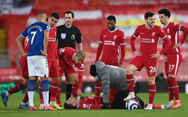 Bitterer Moment für den FC Liverpool: Auch Kapitän Jordan Henderson ist nun verletzt