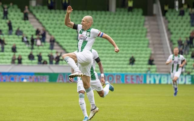 Arjen Robben traf gegen Arminia Bielefeld