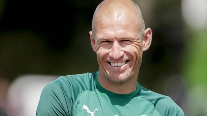 Arjen Robben arbeitet derzeit beim FC Groningen an seinem Comeback