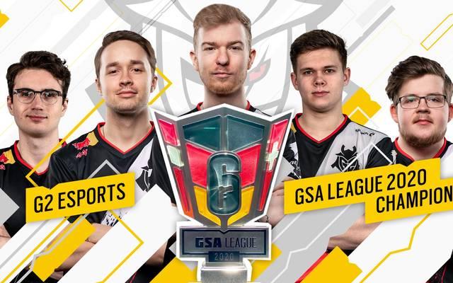 G2 Esports bewzingt Rogue und sichert sich den ersten GSA League Titel in Rainbow Six Siege