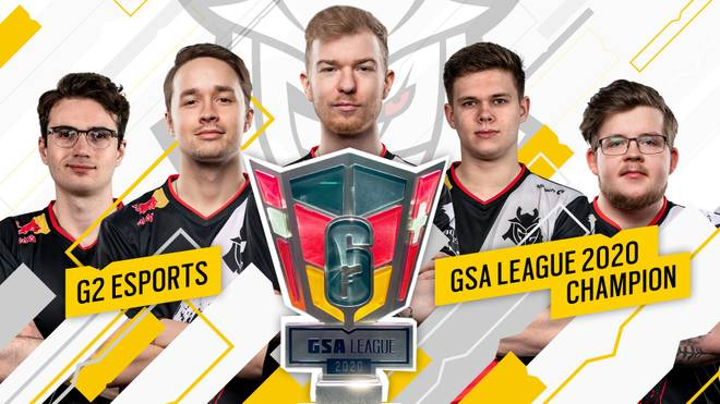 G2 Esports bewzingt Rogue und sichert sich den ersten GSA League Titel in Rainbow Six Siege