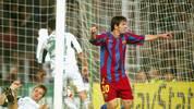 PLATZ 20 - LIONEL MESSI (FC Barcelona/18 Jahre, 132 Tage)