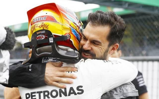 Marc Hynes stand Lewis Hamilton treu zur Seite