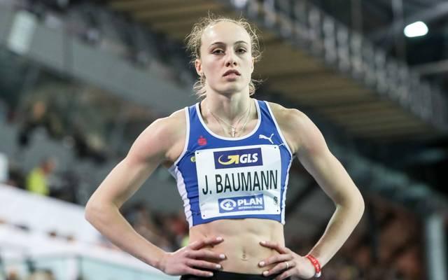 Jackie Baumann ist die Tochter von 5000-m-Olympiasieger Dieter Baumann