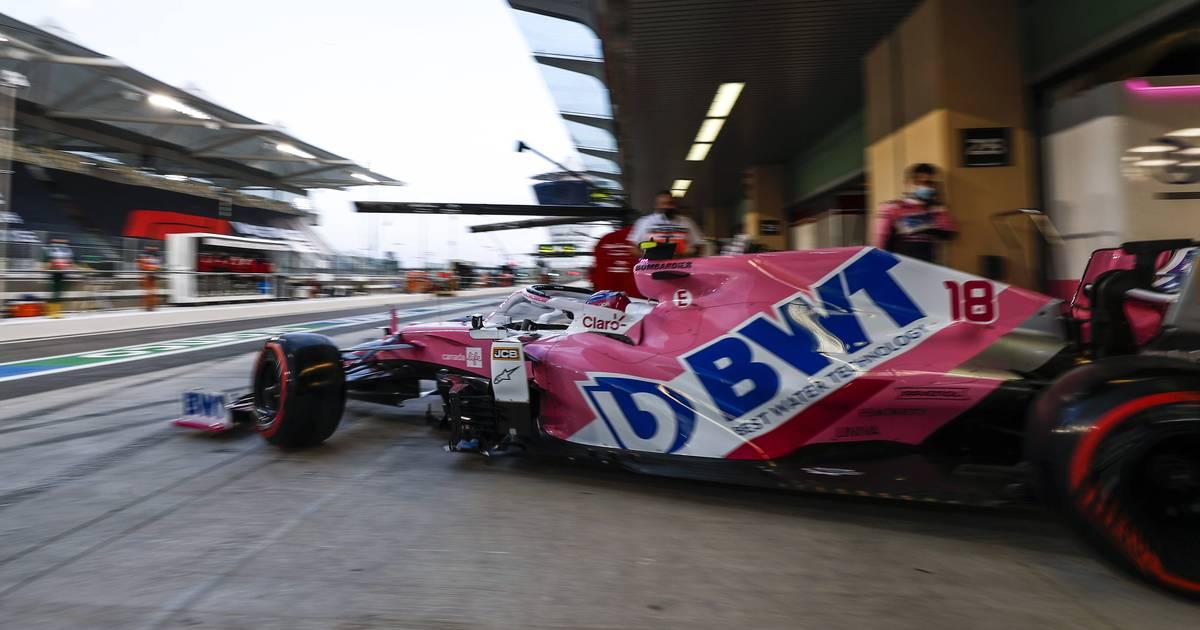 Formel 1: Sponsor bleibt - Aston Martin von Vettel teilweise in Rosa