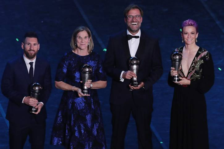 Jürgen Klopp ist als dritter Deutscher zum Welttrainer des Jahres gewählt worden