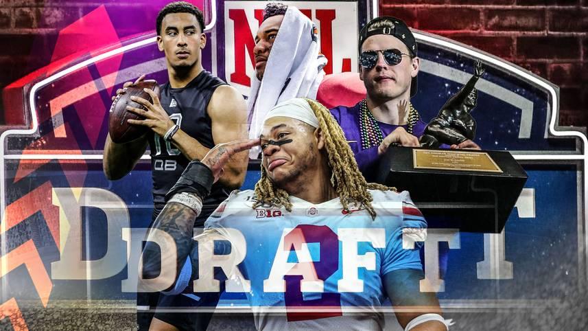 Der NFL-Draft ist jedes Jahr ein großes Spektakel. In der Coronakrise wird die Talenteauswahl 2020 aber virtuell ablaufen. Wo landen die Quarterbacks? Draften die Patriots Tom Bradys Erben? SPORT1 prognostiziert die komplette erste Runde und nennt NFL-Stars, die mit den Top-Talenten vergleichbar sind