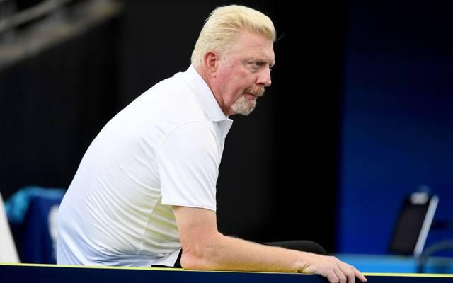 Boris Becker arbeitet für den DTB und als TV-Experte