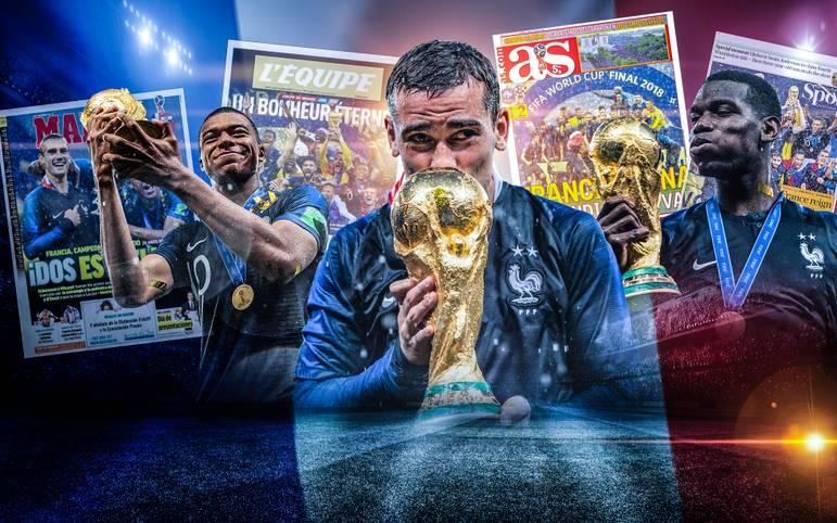 Die französische Presse sieht sich nach dem WM-Titel bereits auf dem Weg ins Paradies, Kroatien bleibt bei der erfolgreichsten WM seiner Geschichte die Krönung verwehrt. SPORT1 zeigt die internationalen Pressestimmen