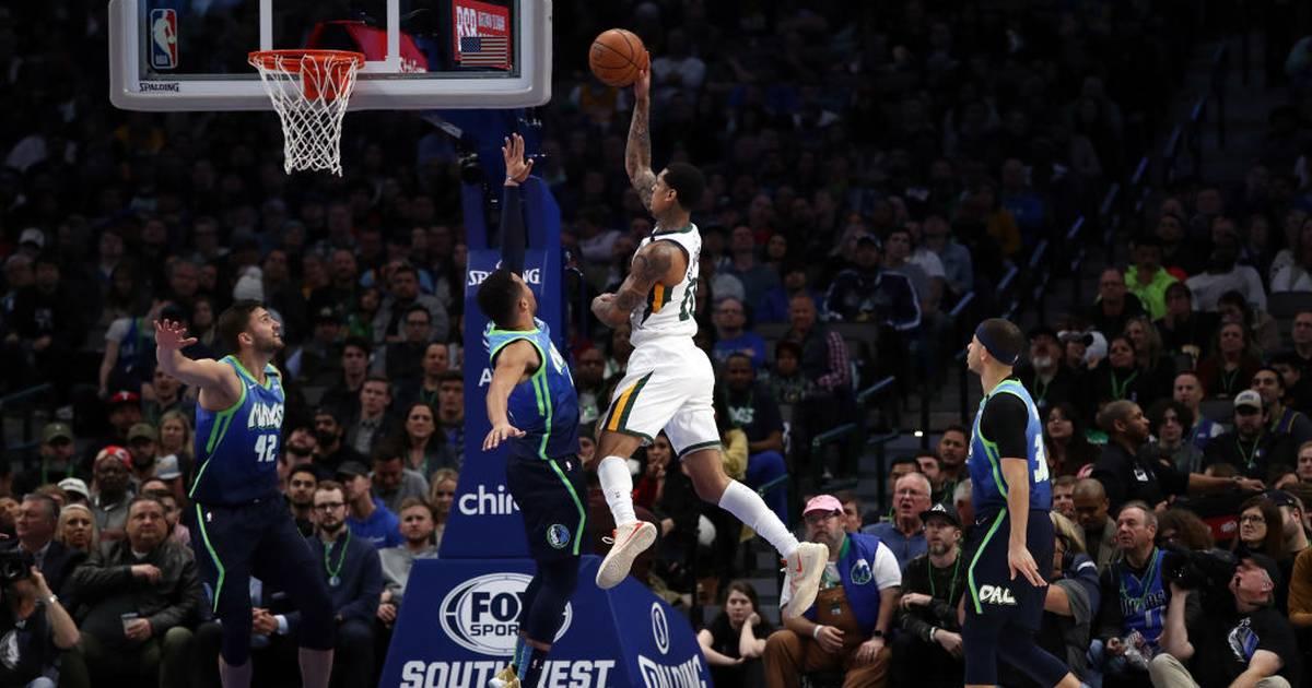 NBA: Dallas Mavericks kassieren gegen Utah Jazz dritte Pleite in letzten vier Spielen