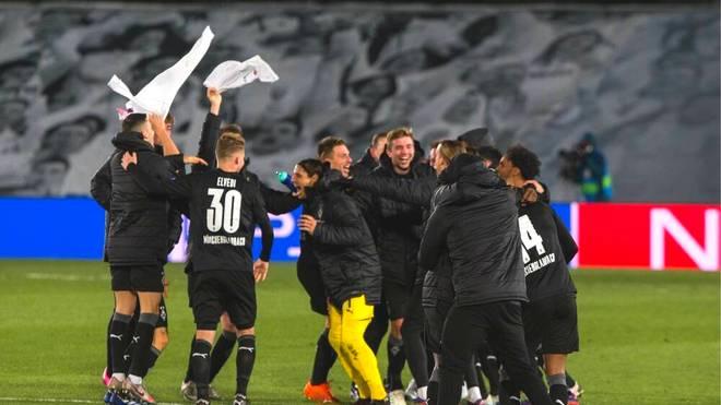 Borussia Mönchengladbach schaffte als vierte deutsche Mannschaft den Einzug ins CL-Achtelfinale