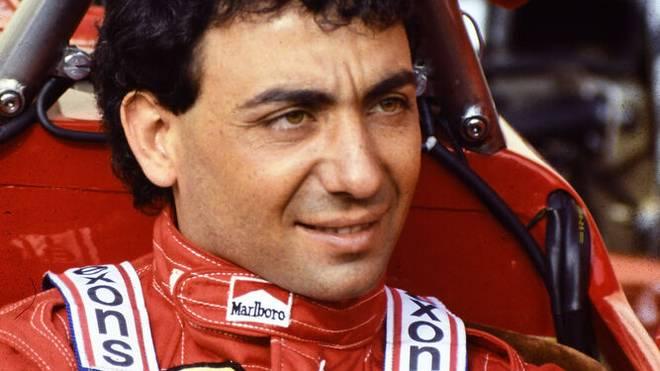 Michele Alboreto fuhr in der Formel 1 unter anderem für Ferrari