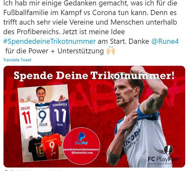 "Simon Zoller mit seiner Twitter-Aktion ""SpendedeineTrikotnummer"