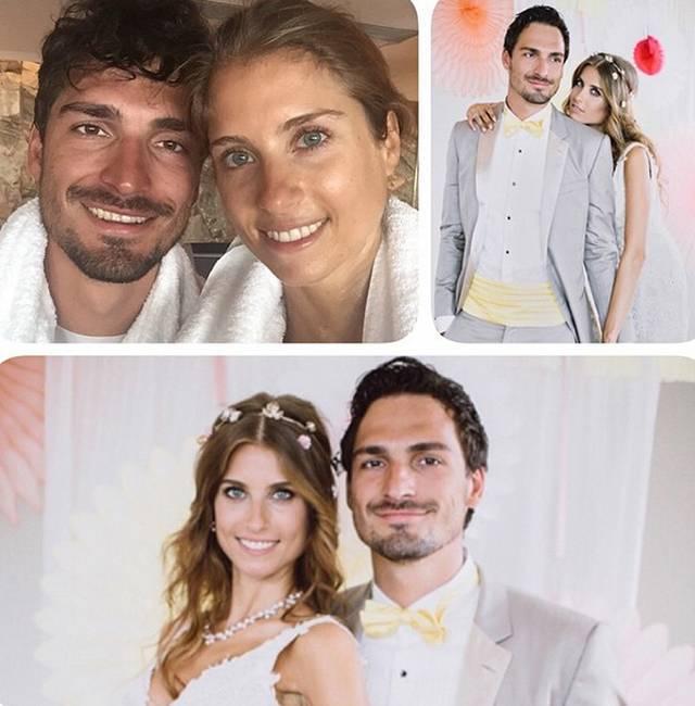 Die Fotos Mats Hummels Heiratet Cathy Fischer Sport1 Bildergalerie