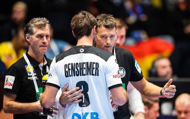 Uwe Gensheimer (v.) traf gegen Tschechien ein Mal