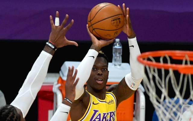 Dennis Schröder hatte neben LeBron James großen Anteil am Sieg der Los Angeles Lakers