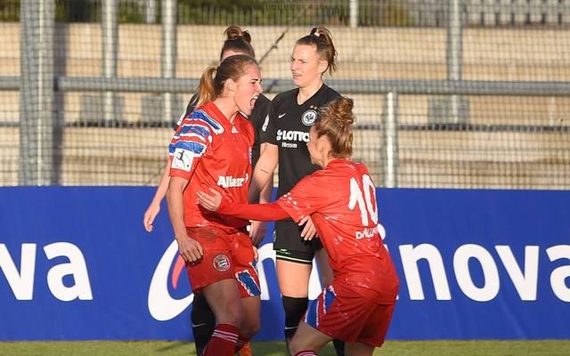 Sydney Lohmann erzielte in Frankfurt den Siegtreffer