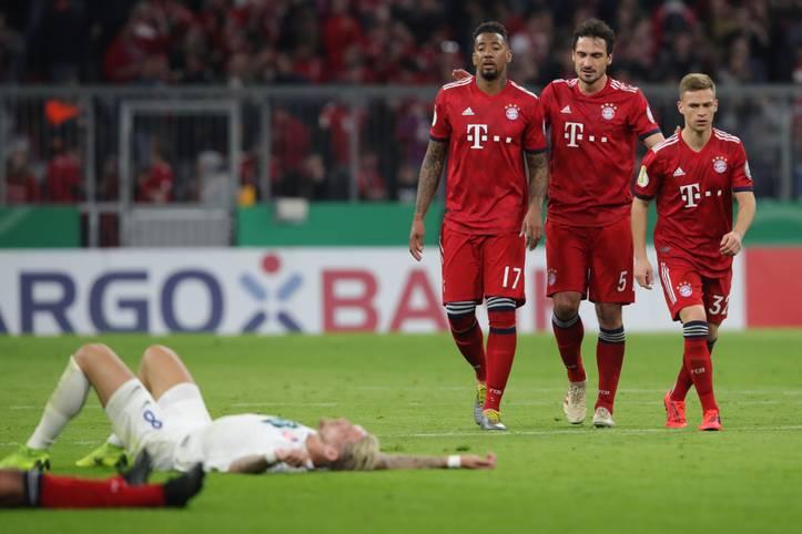 Der FC Bayern erlebt im Viertelfinale des DFB-Pokals eine irre Pokal-Schlacht gegen den 1. FC Heidenheim. Nach einer durchwachsenen Leistung zittern sich die Bayern zu einem 5:4-Sieg gegen den Zweitligisten. Die SPORT1-Einzelkritik
