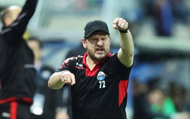 Steffen Baumgart war nach der Niederlage gegen Wolfsburg bedient