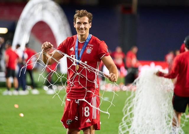 Leon Goretzka nach dem Sieg in der Champions League