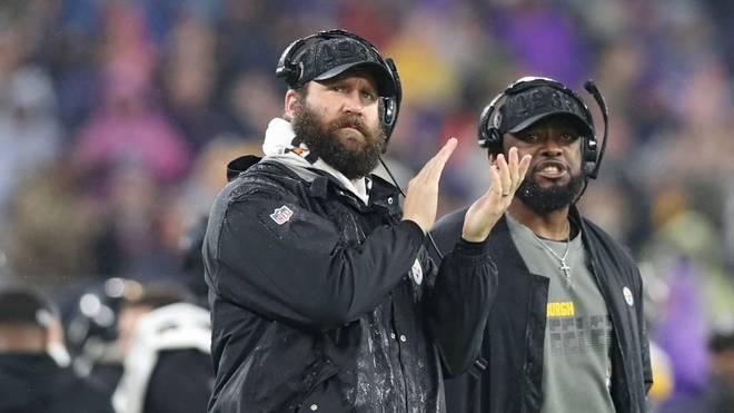 Ben Roethlisberger (links) rasierte sich während seiner Leidenszeit den Bart nicht mehr