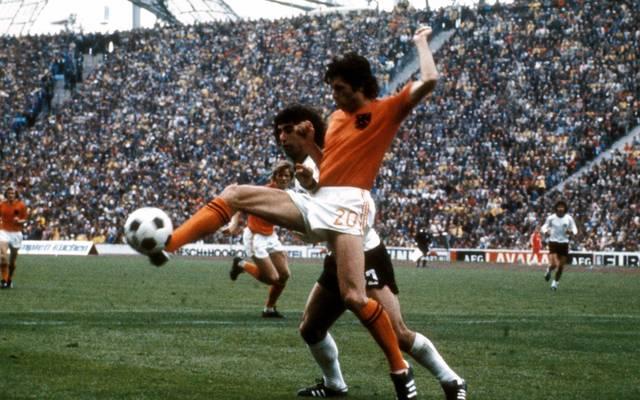 Wim Suurbier unterlag mit den Niederlanden bei der WM 1974 Deutschland im Finale