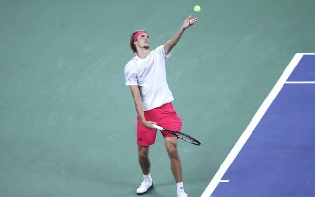 Alexander Zverev gewann in der dritten Runde der US Open 2020 gegen Àdrian Mannarino