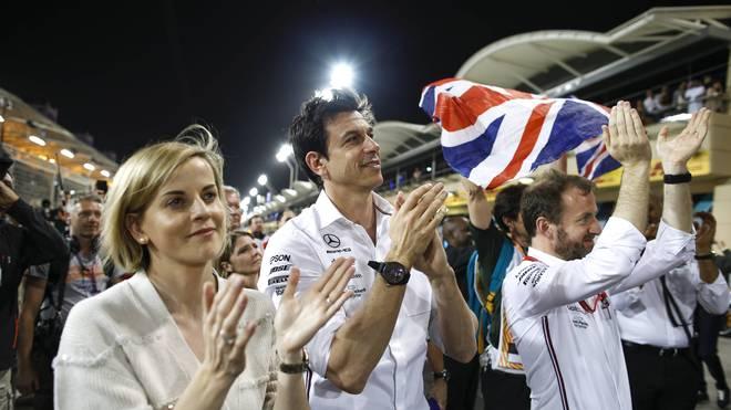 Formel-E-Teamchefin Susie Wolff ist mit Mercedes-Motorsportchef Toto Wolff verheiratet