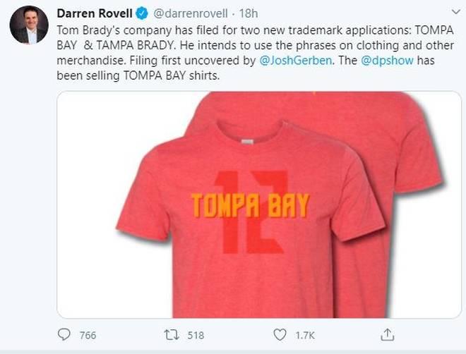 Erste Entwürfe der neuen Brady-Shirts kursieren bereits im Netz