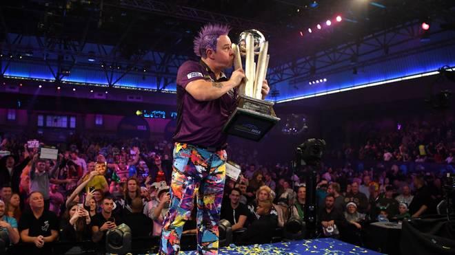 Peter Wright gewann bei der vergangenen WM den Titel im Ally Pally