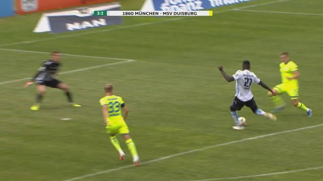 3. Liga: Löwen ringen Duisburg nieder