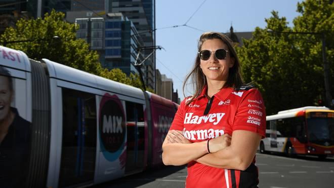 Simona de Silvestro will 2021 beim Indy 500 eine gute Figur abgeben