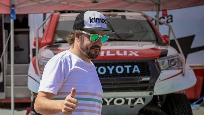 Fernando Alonso geht in diesem Jahr erstmals bei der Rallye Dakar an den Start