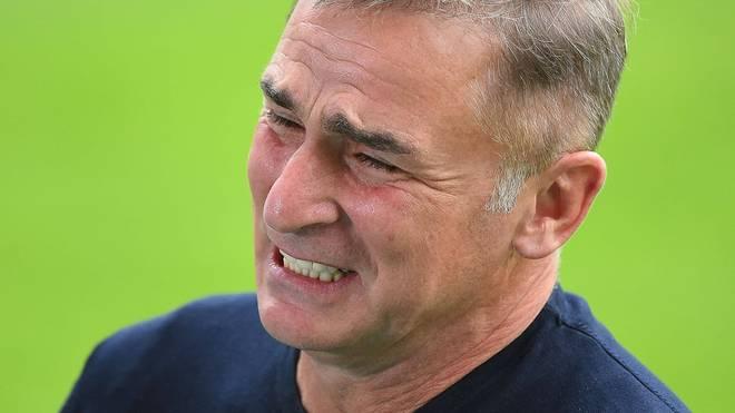U21-Nationaltrainer Stefan Kuntz nahm der deutsche Auftritt gegen Belgien sichtlich mit