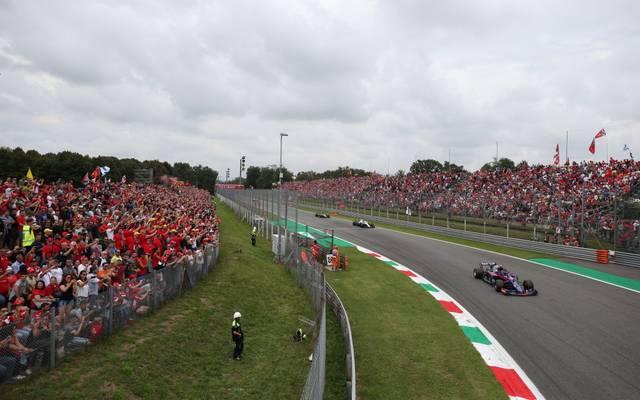 Am Wochenende gastiert die Formel 1 in Monza