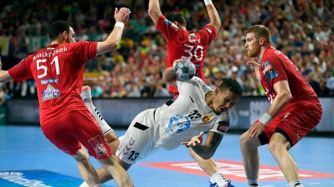 Im Finale der Handball Champions League standen sich 2019 Veszprem und Skopje gegenüber
