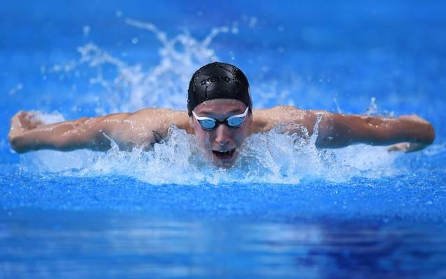 Deutschlands Schwimmstar Florian Wellbrock geht 2022 in Rom auf Medaillenjagd