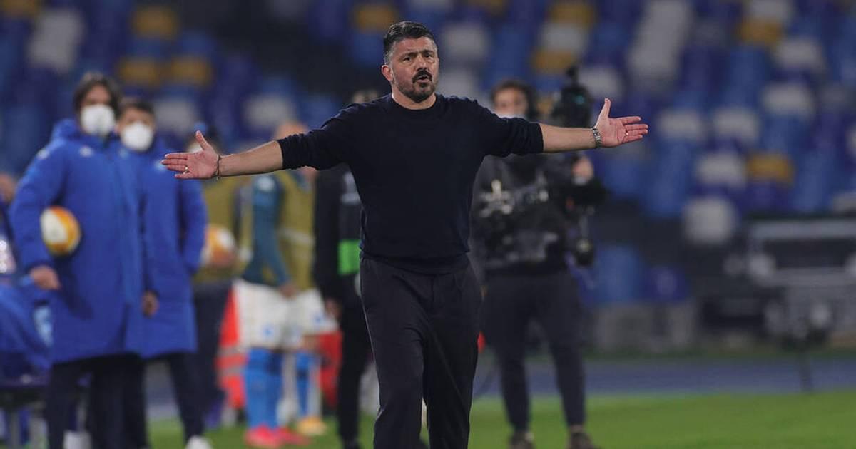 SSC Neapel scheitert in Europa League an FC Granada: Gattuso stinksauer - SPORT1