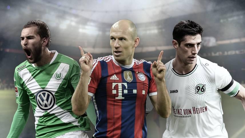 SPORT1 hat die Durchschnittsnoten aller Bundesliga-Spieler berechnet und daraus die Top-Elf der Saison erstellt. Die Gesamtnote der Mannschaft liegt bei einem Wert von 2,8. Auch ein Absteiger hat es in die Riege der Superstars geschafft. Die SPORT1-Elf der Spielzeit 2014/15